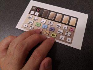 インスタコード開発中の画像